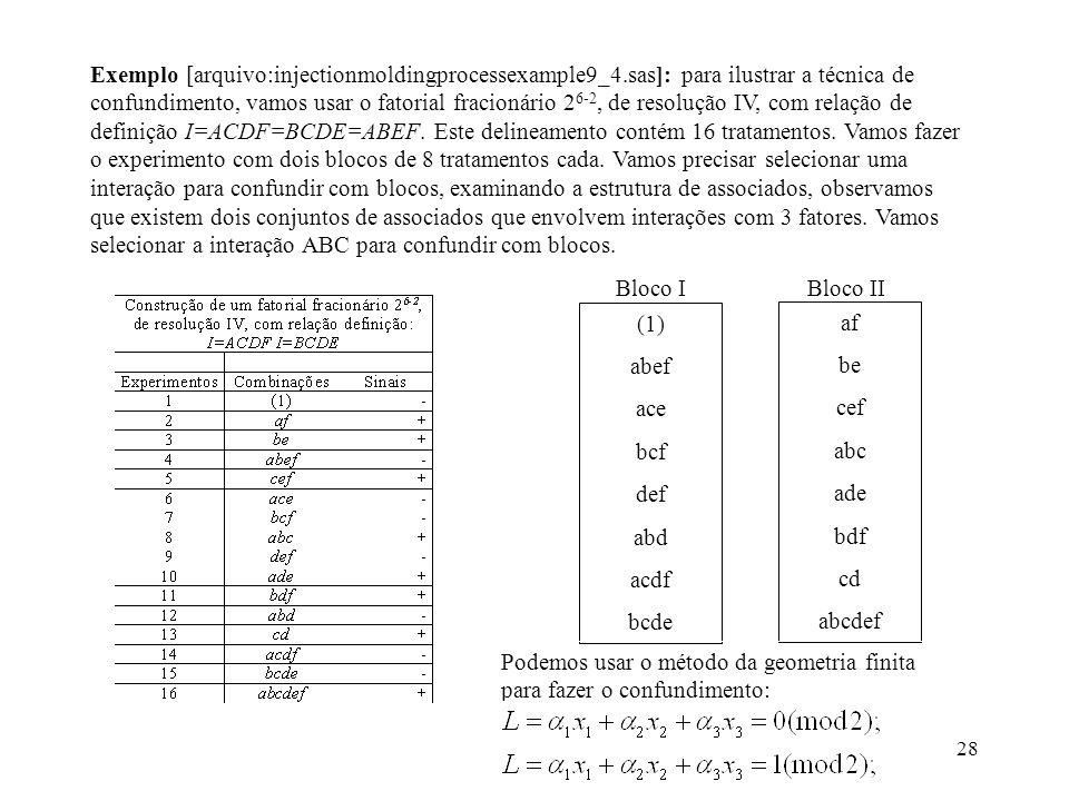 Exemplo [arquivo:injectionmoldingprocessexample9_4